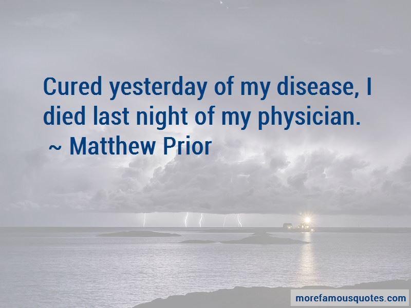 Matthew Prior Quotes Pictures 2