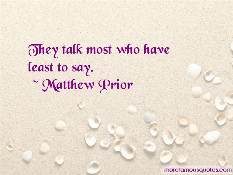Matthew Prior Quotes Pictures 3