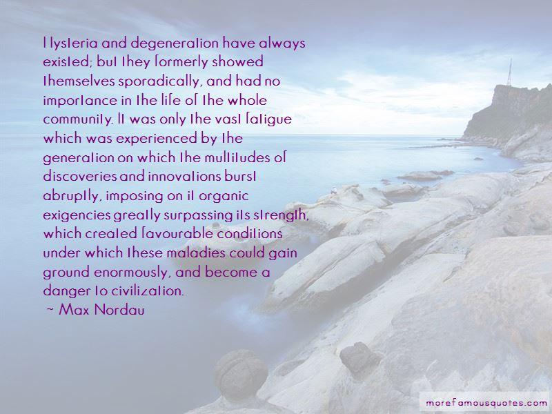 Max Nordau Quotes Pictures 4