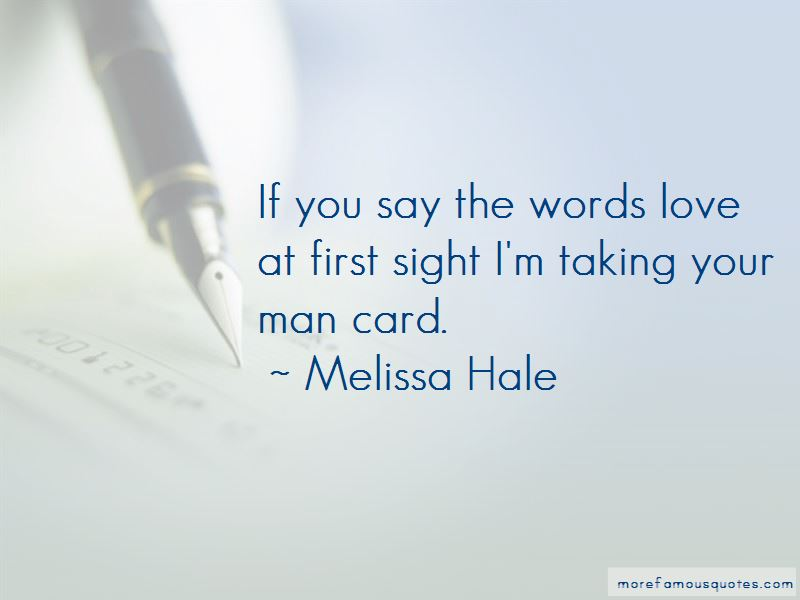 Melissa Hale Quotes Pictures 2