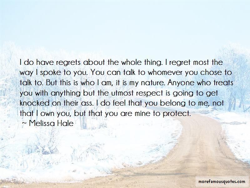 Melissa Hale Quotes