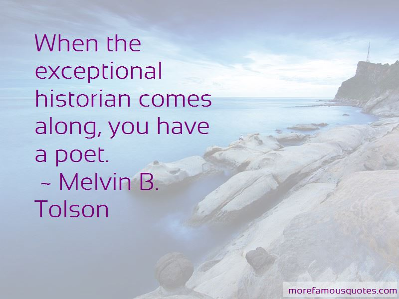 Melvin B. Tolson Quotes Pictures 2