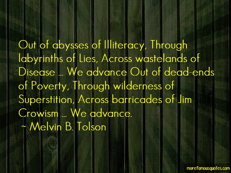 Melvin B. Tolson Quotes Pictures 3