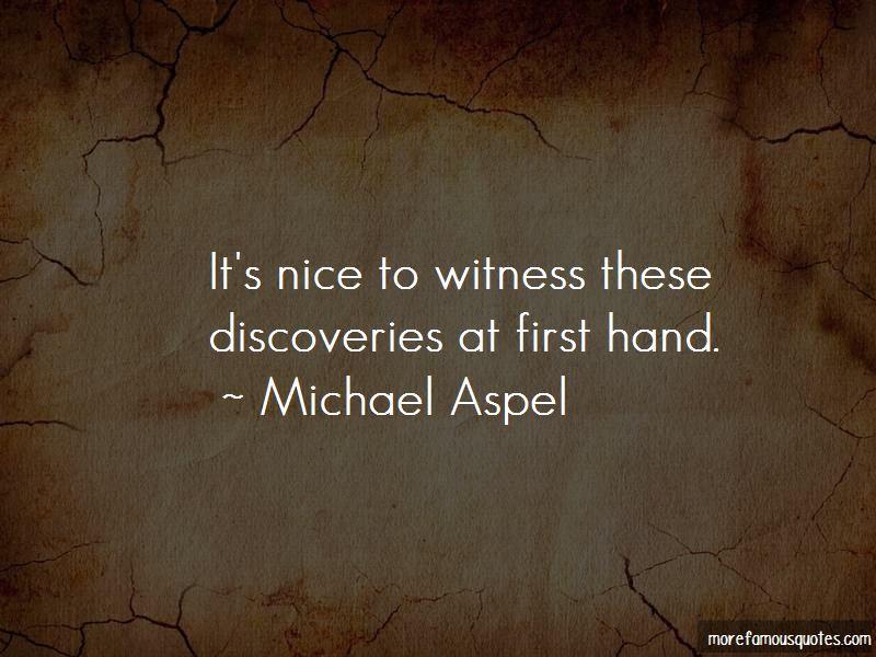 Michael Aspel Quotes