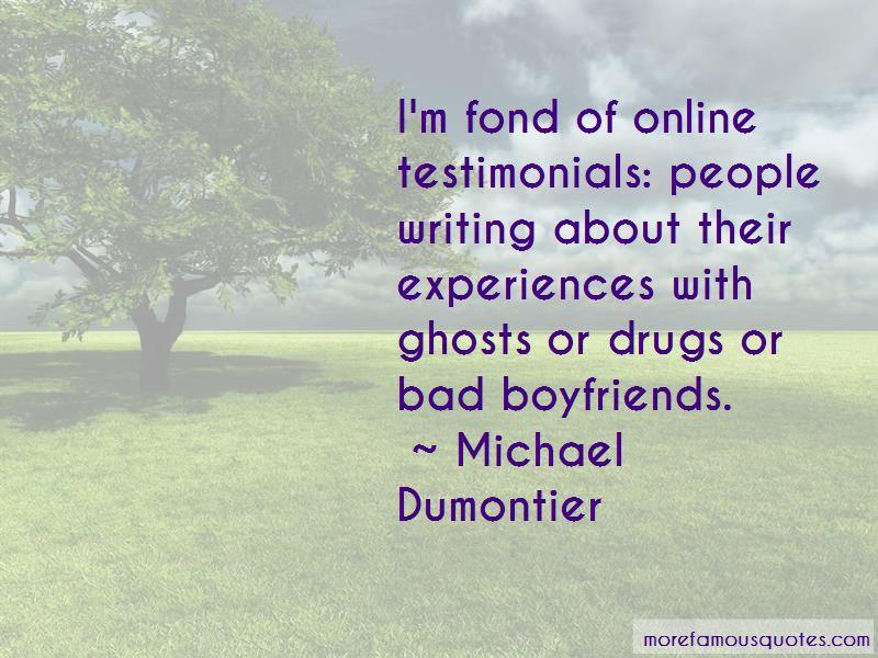 Michael Dumontier Quotes