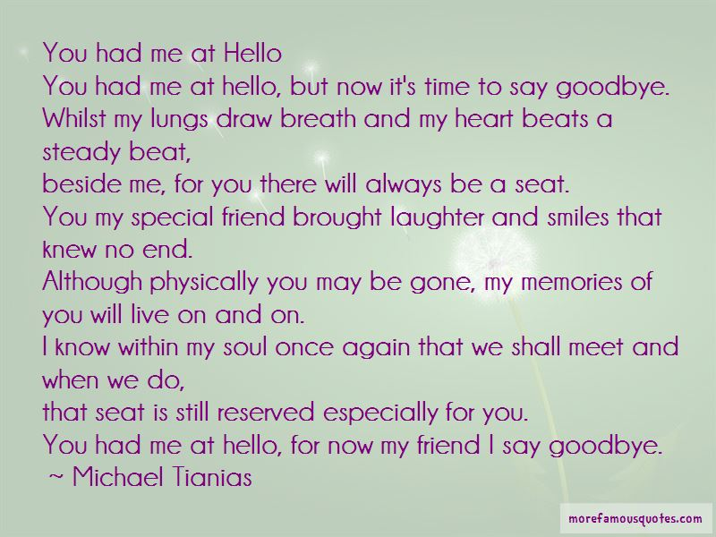Michael Tianias Quotes Pictures 4