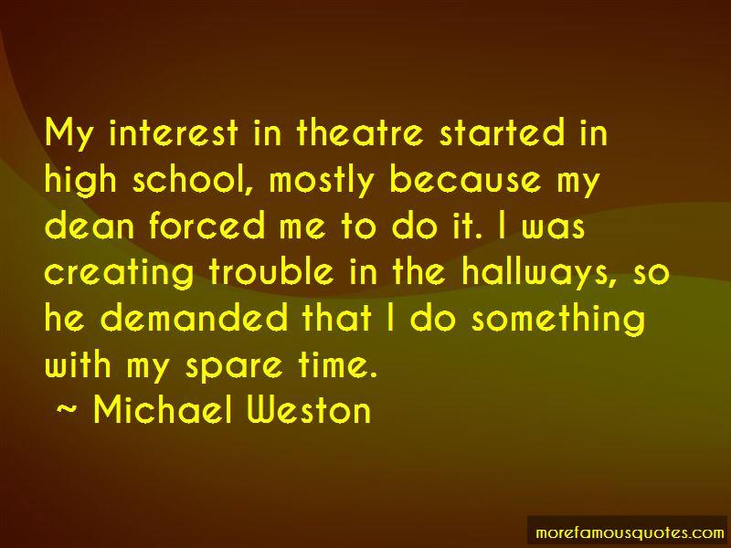 Michael Weston Quotes Pictures 2