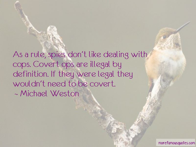 Michael Weston Quotes Pictures 4