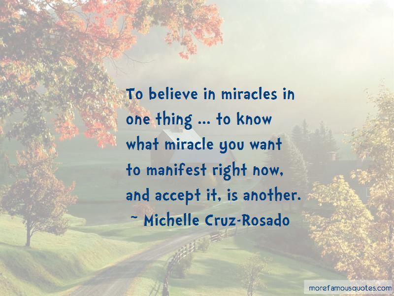 Michelle Cruz-Rosado Quotes Pictures 3