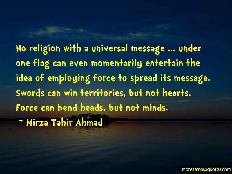 Mirza Tahir Ahmad Quotes Pictures 2