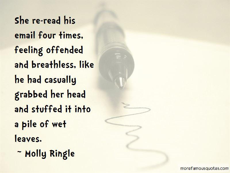 Molly Ringle Quotes