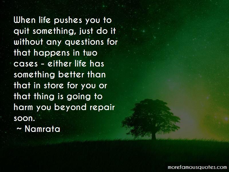 Namrata Quotes