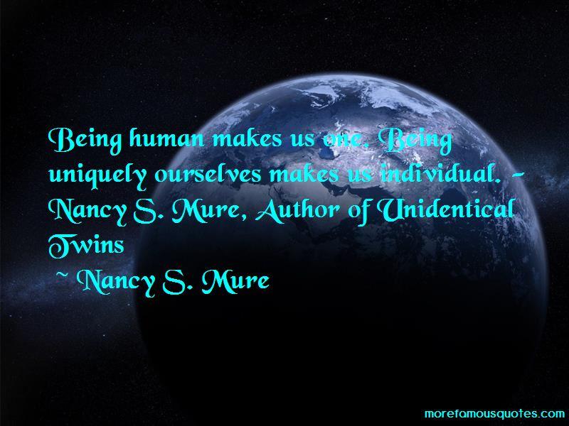 Nancy S. Mure Quotes