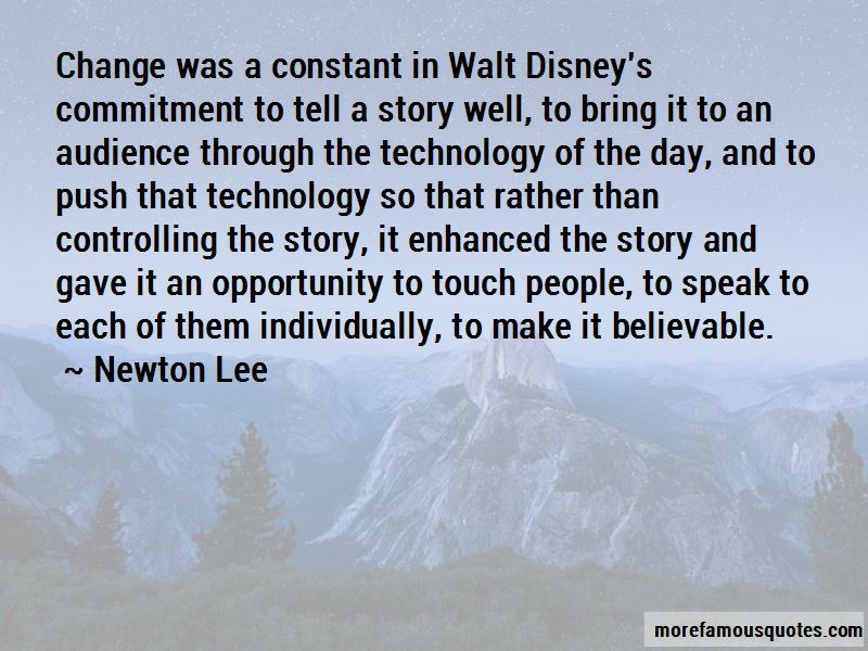 Newton Lee Quotes Pictures 2