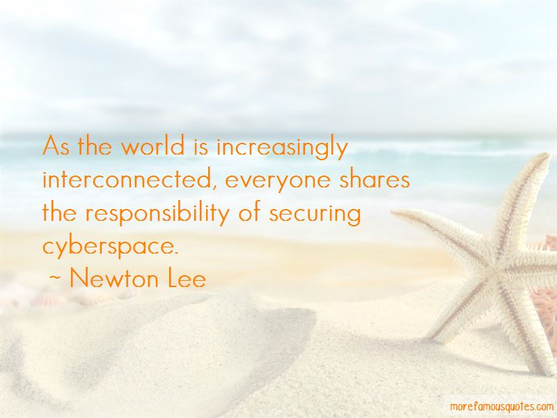 Newton Lee Quotes