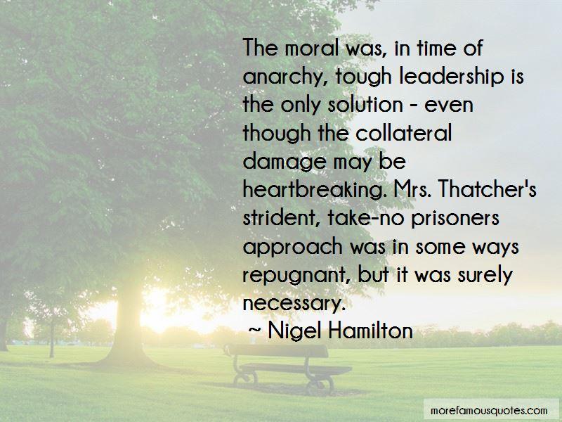 Nigel Hamilton Quotes