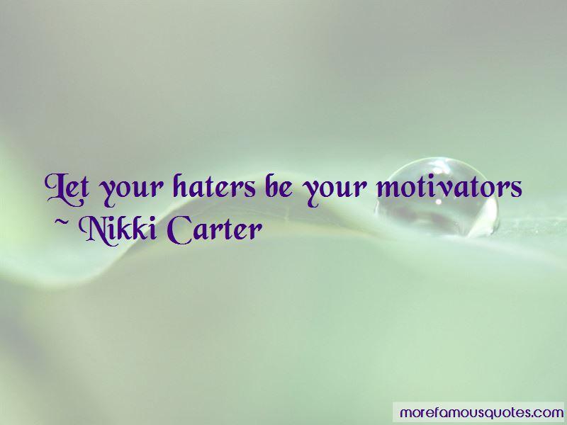 Nikki Carter Quotes