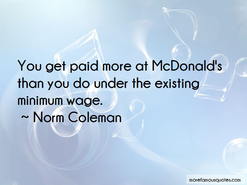 Norm Coleman Quotes Pictures 2