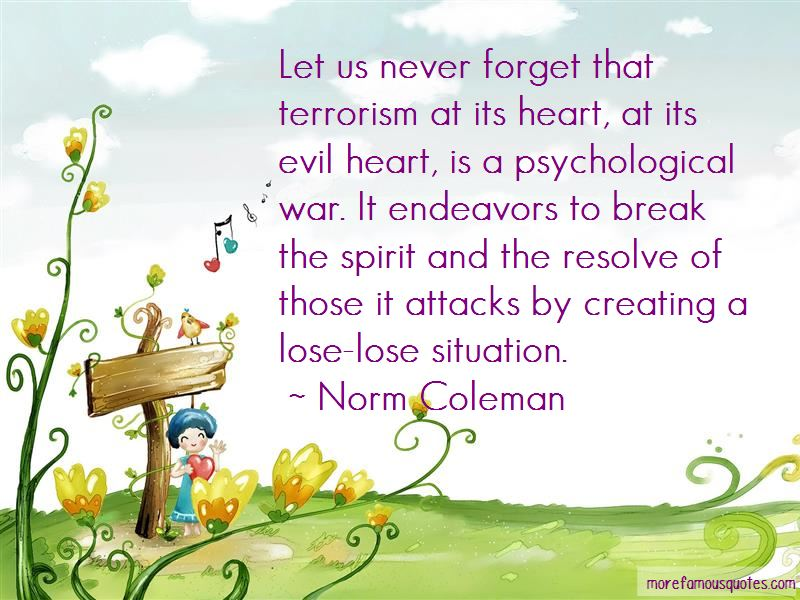 Norm Coleman Quotes Pictures 3