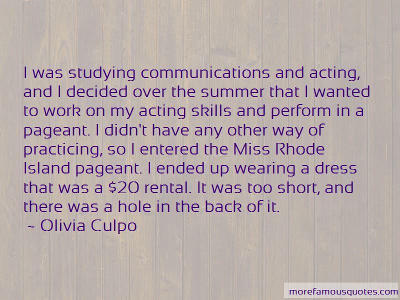 Olivia Culpo Quotes Pictures 4
