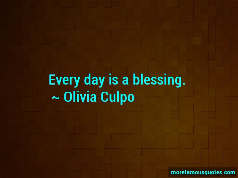 Olivia Culpo Quotes