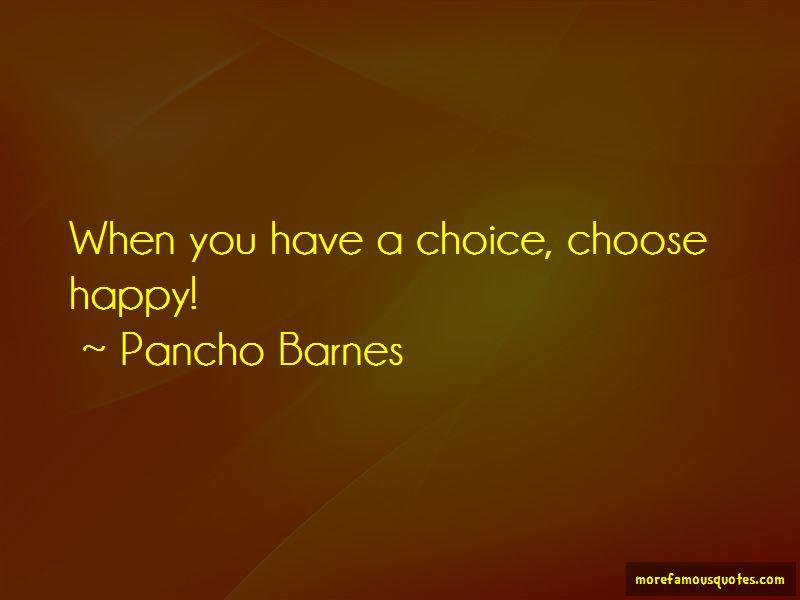 Pancho Barnes Quotes