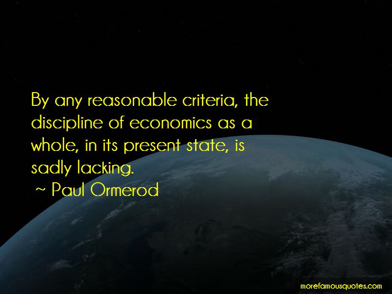 Paul Ormerod Quotes Pictures 3