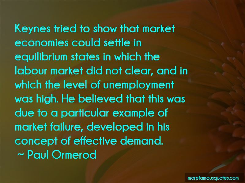 Paul Ormerod Quotes