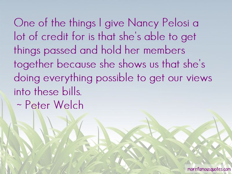 Peter Welch Quotes Pictures 2