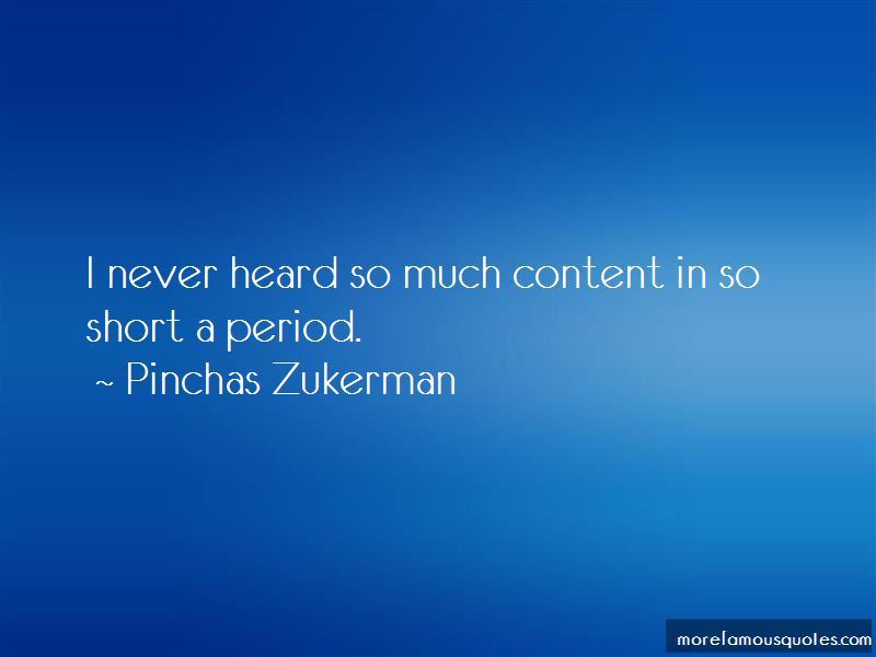 Pinchas Zukerman Quotes Pictures 4