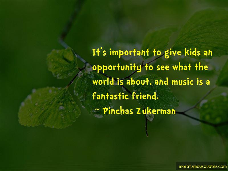 Pinchas Zukerman Quotes