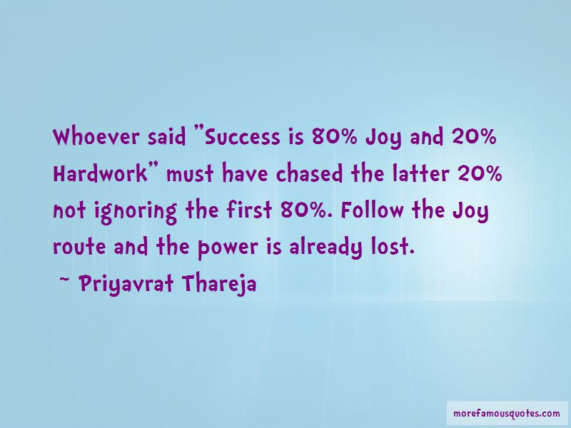 Priyavrat Thareja Quotes Pictures 2