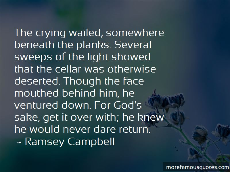 Ramsey Campbell Quotes Pictures 2