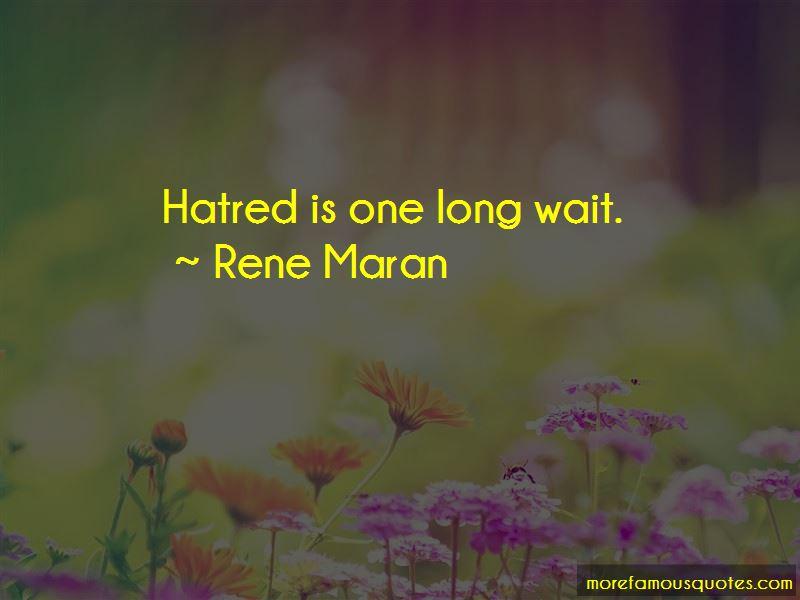Rene Maran Quotes