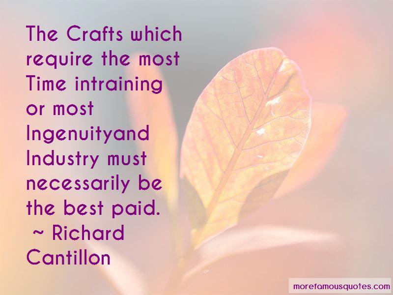 Richard Cantillon Quotes