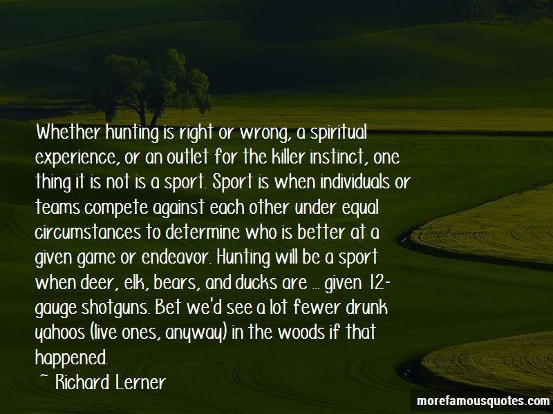 Richard Lerner Quotes
