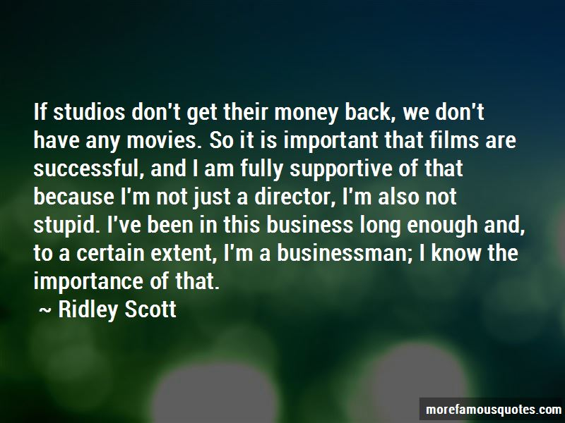 Ridley Scott Quotes Pictures 3