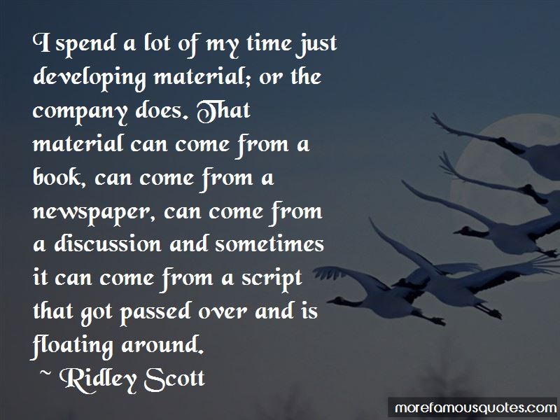 Ridley Scott Quotes Pictures 4