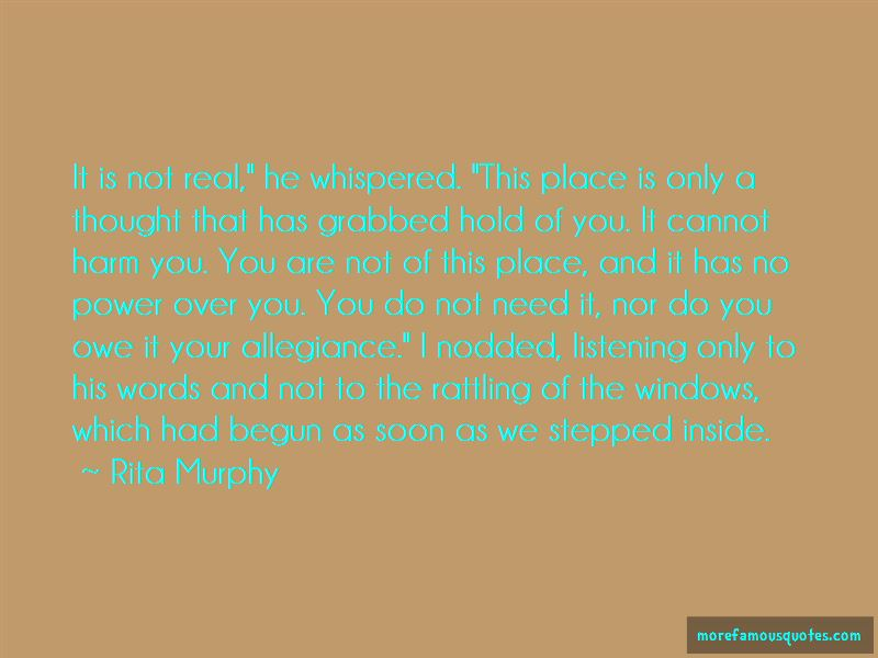 Rita Murphy Quotes Pictures 2