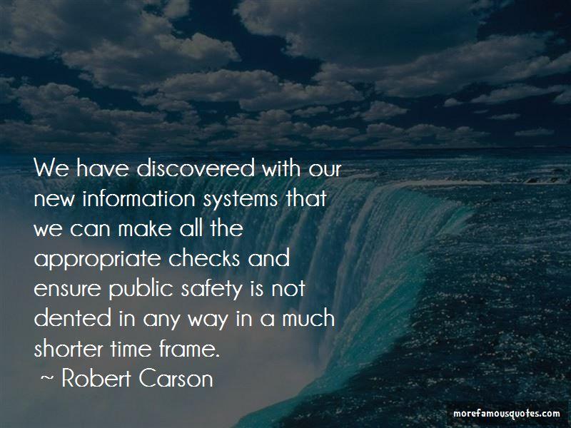 Robert Carson Quotes