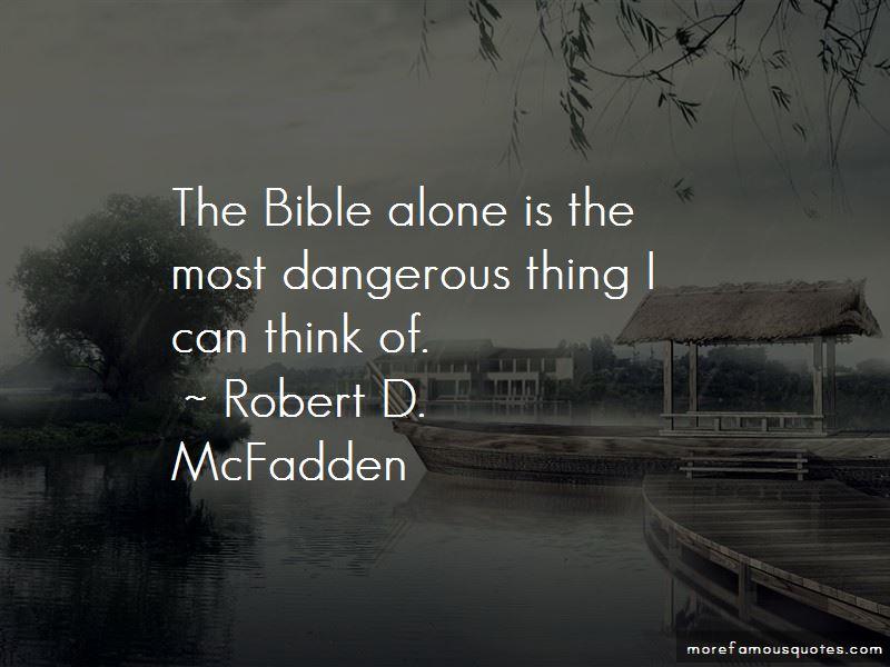 Robert D. McFadden Quotes Pictures 2