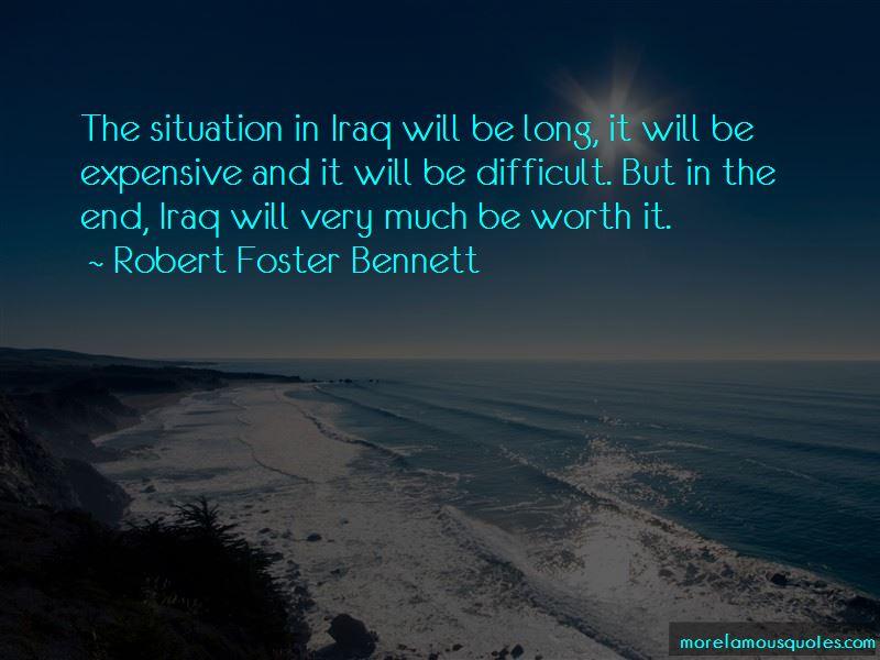 Robert Foster Bennett Quotes Pictures 2