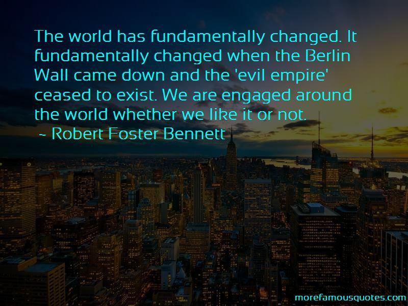 Robert Foster Bennett Quotes Pictures 3