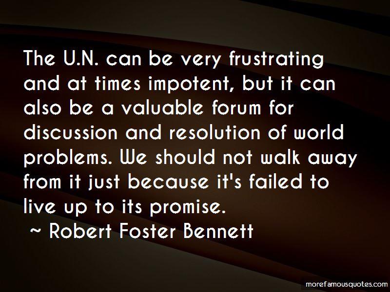 Robert Foster Bennett Quotes Pictures 4