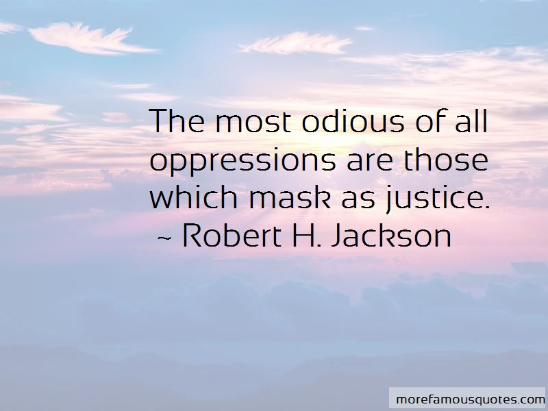 Robert H. Jackson Quotes Pictures 2