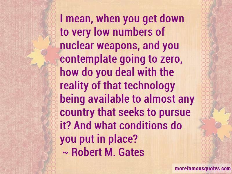 Robert M. Gates Quotes