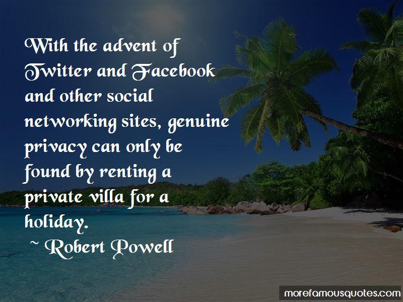 Robert Powell Quotes