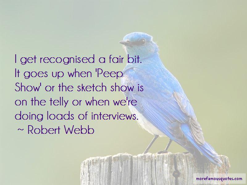 Robert Webb Quotes Pictures 2