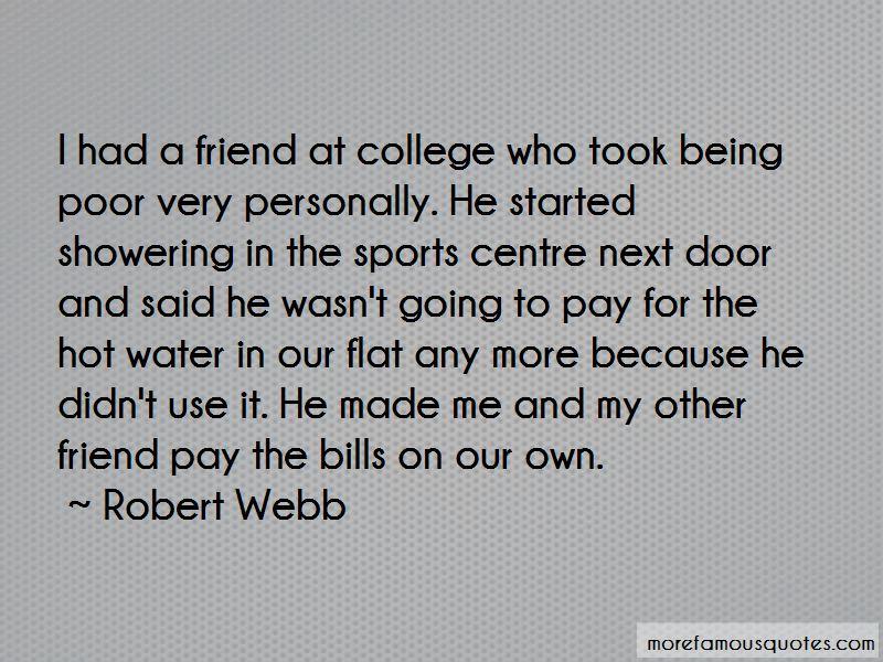Robert Webb Quotes