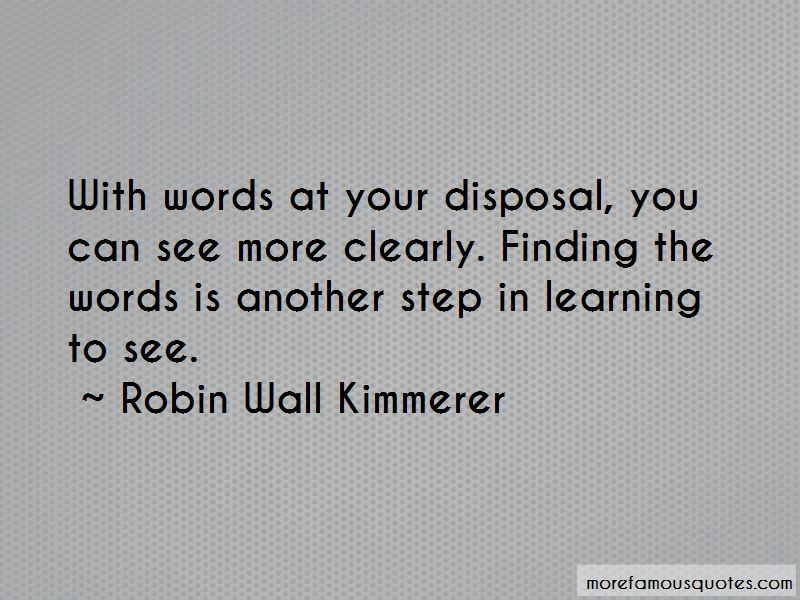 Robin Wall Kimmerer Quotes
